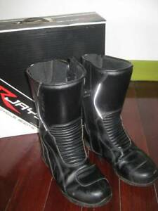 Rjays motorcycle boots size 7