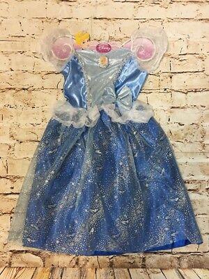 Disney Princess Cinderella Dress Halloween Costume Party Girls Age 3+ (Cinderella Dress Halloween)