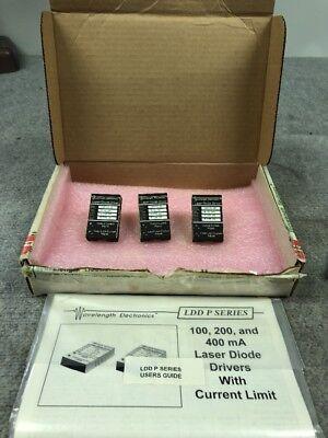 Lot Of 3pcs Wavelength Electronics Laser Diode Driver Ldd100-3p
