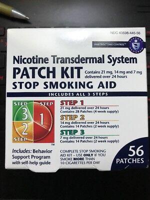 Habitrol Nicotine Transdermal System Patch Stop Smoking Aid Kit  56 Countr 08 19