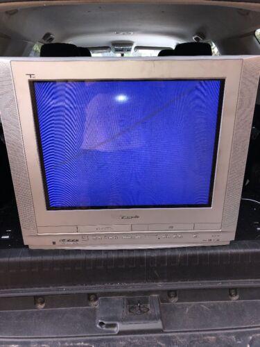 "Panasonic TAU PV-DF275 27""  TV/DVD/VCR/VHS Combo Nice Fully Functional No Remote"