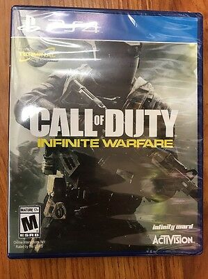 Call of Duty: Infinite Warfare (Sony PlayStation 4, 2016) BRAND NEW SEALED!! PS4