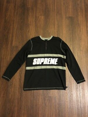 Supreme Black Long Sleeve Shirt Large (PERFECT CONDITION)