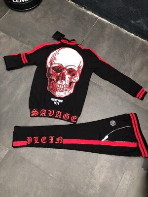 "Survêtement philipp plein neuf modèle ""Skull» 2018 Taille S"