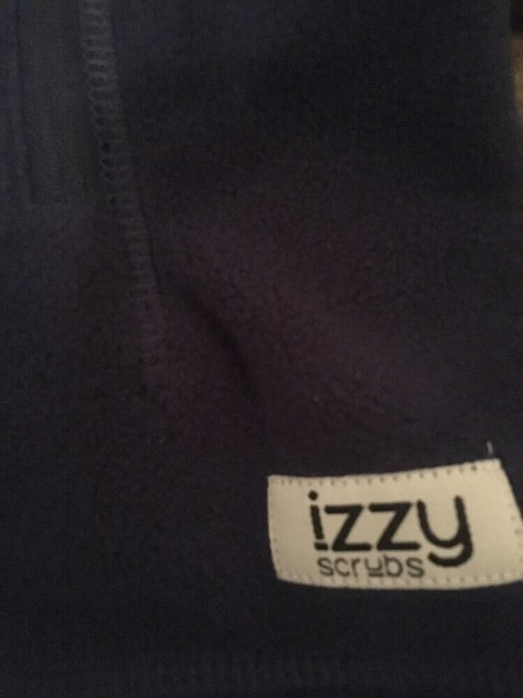 Izzy Scrubs Women's Fleece Medical Uniform Work Scrub Vest ...