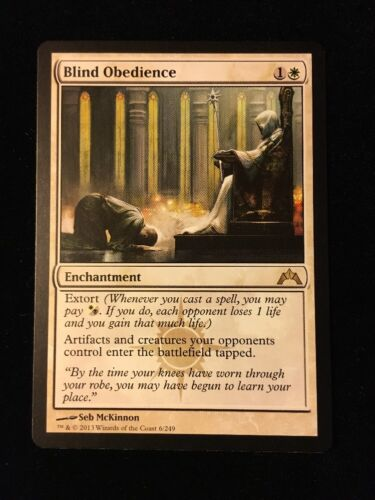 Blind Obedience x 1 MTG Gatecrash / EDH