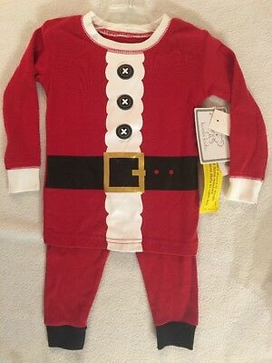 Childrens Santa Outfits (Koala Kids 18m Santa 2 Piece Outfit Christmas NWT)