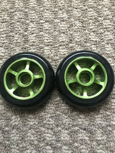 Pro Scooter Wheels Metal Core 100mm Shredder Anodized Lucky