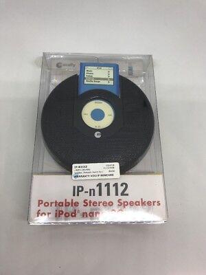 Ipod Nano Dock Stereo (MACALLY MYTUNE PORTABLE STEREO SPEAKER DOCK FOR APPLE iPOD NANO 2ND GEN 2G)