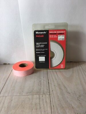 Monarch Model 1136 Pricemarker Labels Plus Extra Orange Roll