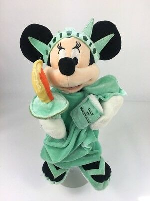 Girls Dressed As Pokemon (Disney Store Authentic Minnie Mouse Dressed As Statue Of Liberty)