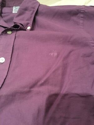 Brooks Brothers Oxford Shirt In Purple