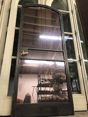 Arched Metal Door In Frame 89-12x36
