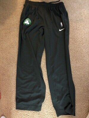 Men's Nike NBA Boston Celtics Grey Dri-Fit Warm Up Pant Size XL-TALL 859481 010
