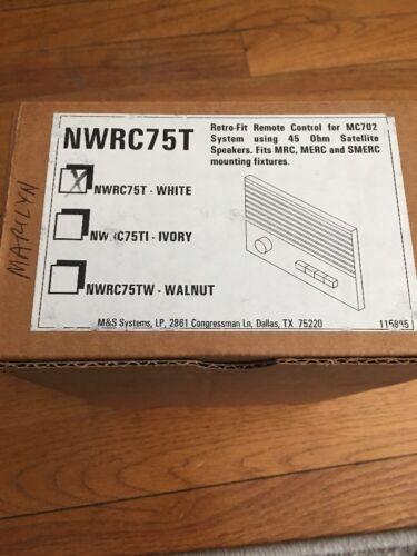 NWRC75T Remote Control For M&S Intercom System