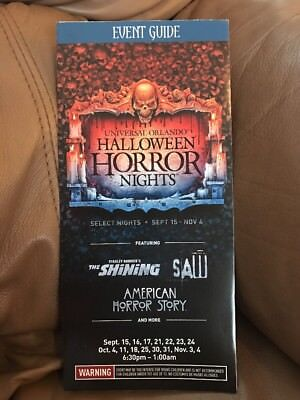 HHN 27 Halloween Horror Nights 2017 Event Guide Map Bill And Ted Farewell Tour