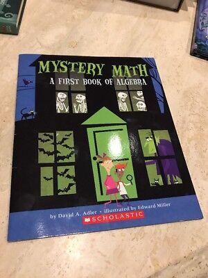 Halloween Themed Books (Mystery Math First Book Of Algebra Soft Cover New Halloween)