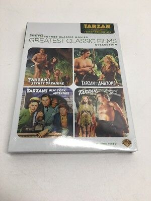 Johnny Weissmuller As Tarzan  Tcm Greatest Classic Films Collection  Vol  2 New