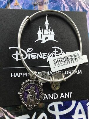Disney Alex And Ani Villains Evil Queen Silver Bracelet Deliciously Wicked NEW