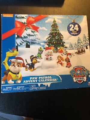 Nickelodeon Paw Patrol Advent Christmas Countdown Calendar 24 Gifts