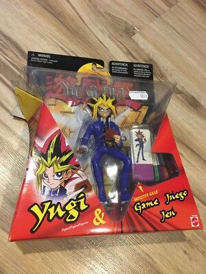 YUGIOH Yugi Series 1 Figure Dragon Chips Game Mattel Anime Rare New Card Toy Vtg