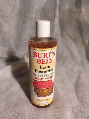 Burts Bees Extra Energizing Citrus   Ginger Body Wash 12 Fl Oz