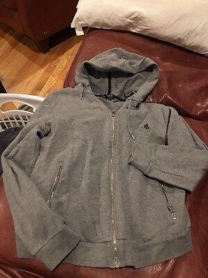RL Size Large Grey Hoodie