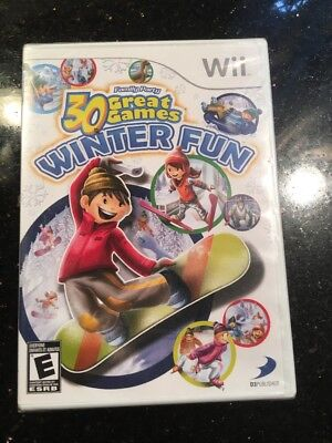 Family Party 30 Great Games Winter Fun Nintendo Wii Brand New Factory Sealed](Winter Party Games)