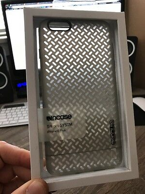 New! Incase Smart SYSTM Phone Case for iPhone 6 6S Plus Clear Frost Gray CL69442