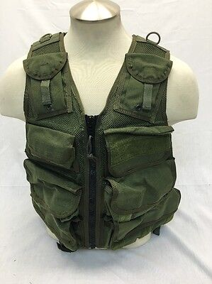 Eagle Industries TAC V 1 Medic EOD Vest OD Old School Trim Tab  SEALs Medium, used for sale  Woodbridge