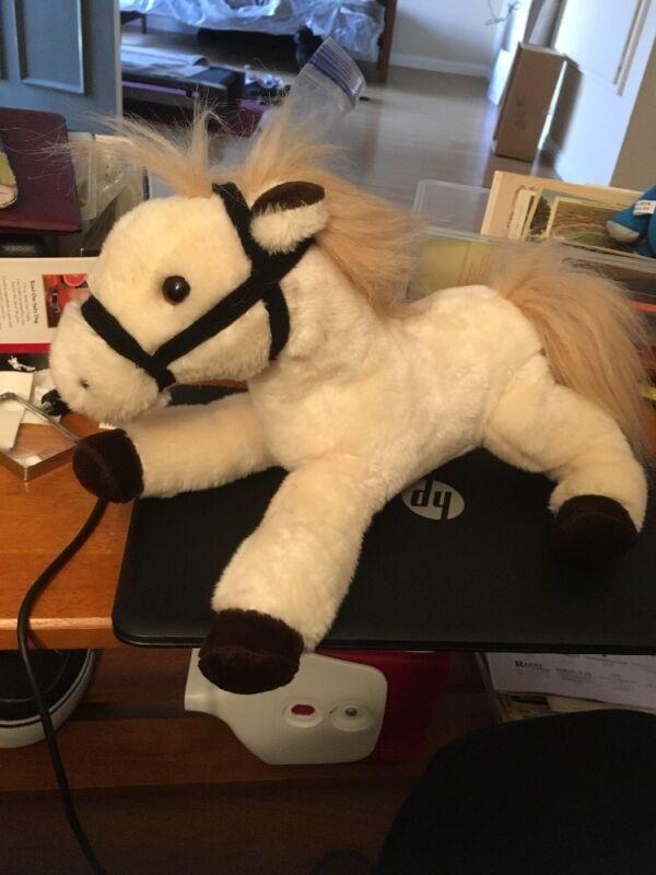 Wells Fargo 12 inch Plush Legendary Pony El Toro 2014 missing saddle