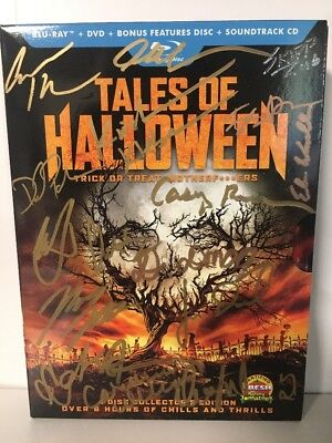 Tales of Halloween (Blu-ray DVD+CD) AUTOGRAPHED BY - Tales Of Halloween Blu Ray