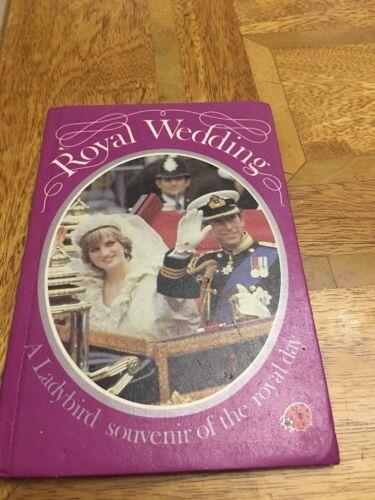 1981 Royal Wedding Charles and Diana Ladybird Souvenir. Book