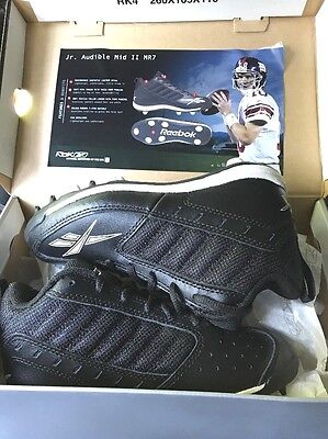Reebok Youth Jr Audible Mid Ii Mr7 Football Cleats New No Box