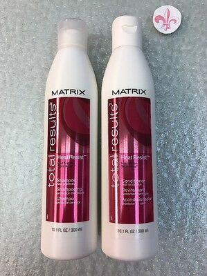Matrix Total Results Heat Resist Shampoo and Conditioner 10.1oz Color Care  SET