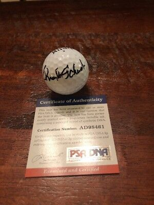 Charles Schwab Signed Golf Ball Autographed Psa Dna Coa