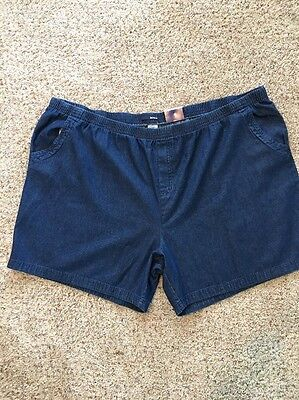 Шорты для танцев New-Basic Editions-Women's-Blue-Denim-Shorts-Size 4