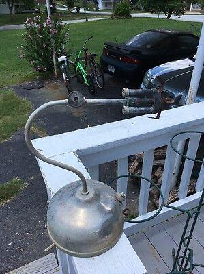 Vintage Akron Lamp Co The Diamond Light Lantern