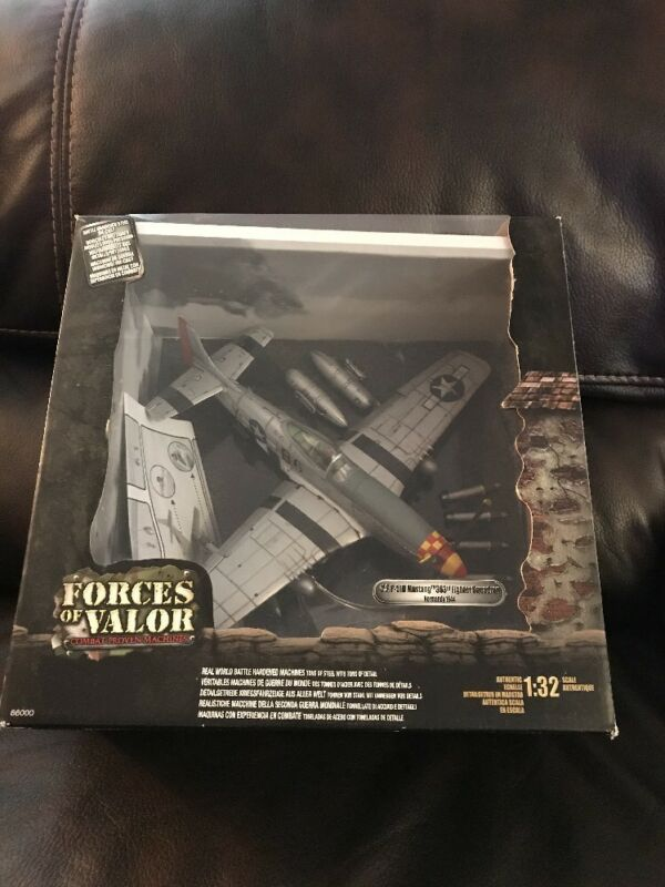 Forces Of Valor US P-510 Mustang 363 Fighter Squadron Normandy 1944 1/32