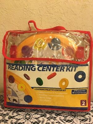 Learning Reading Palette Center Kit Level 2 Excellent Condition FREE SHIPPING - Grade Reading Center Kit