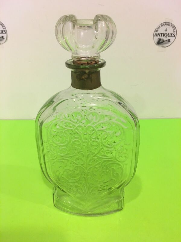 Vintage Schenley Whiskey Decanter Bottle With stopper 11