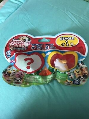 New Chubby Puppies & Friends Babies Beagle Blind Bag 2 Pack 1 Beagle 1 Mystery for sale  Waterloo