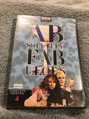 Absolutely Fabulous - Series 4 (DVD, 2002, 2-Disc Set)