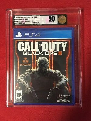 Call of Duty: Black Ops III (PS4,2015) Marque New VGA 90 NM+/MT Gold Level 7007