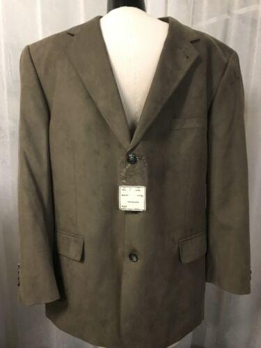 Jos. A. Bank Men's Blazer Executive Taupe Mitchell Lined Blazer Size 46R NWT