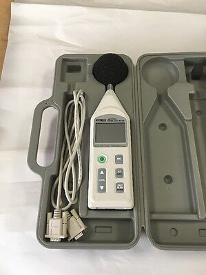 Extech Sound Level Meter -rs-232datalogger 407764 Tested