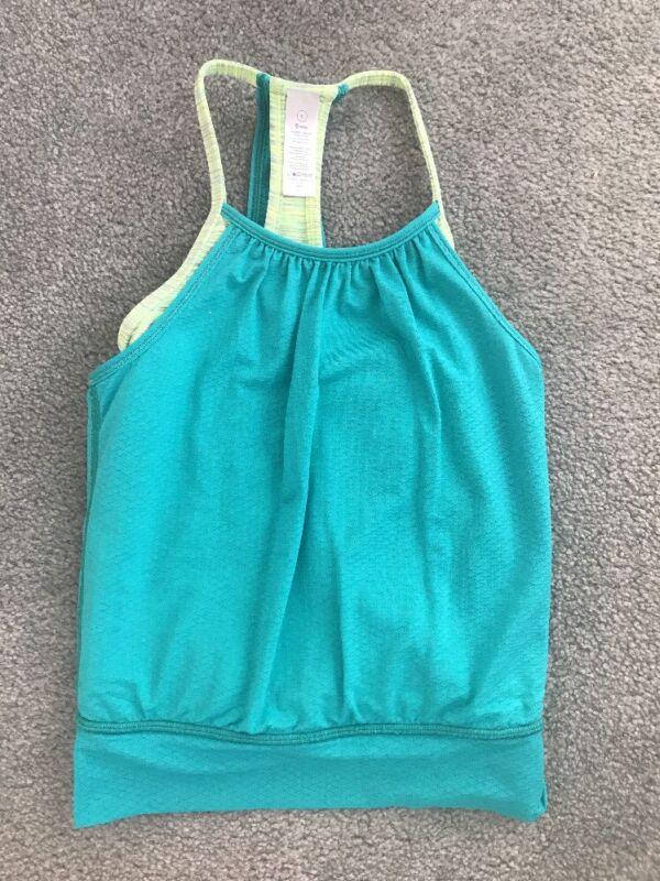 IVIVVA girls turquoise DOUBLE DUTCH tank size 6 EUC