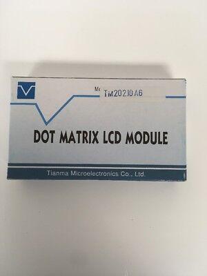 Tianma Tm202jda6 Dot Matrix Lcd Module Display