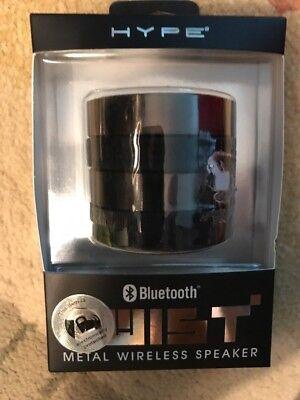 Hype Twist Metal Wireless Speaker Bluetooth