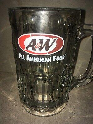 A & W root beer Bear glass All American Food Mug ADVERTISING SIGN soda pop